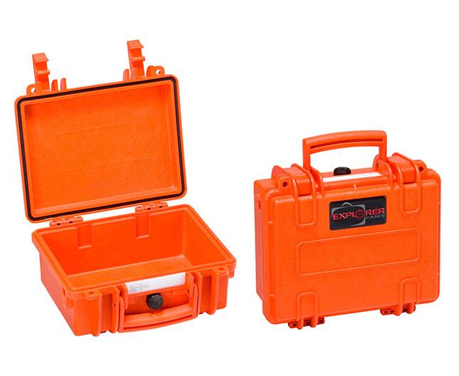 4419 O Waterproof Case, orange with pre-cubed foam