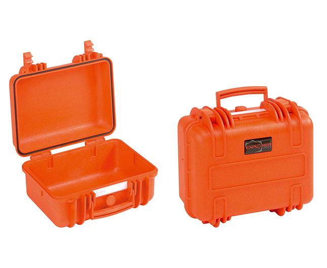 7630 OE Waterproof Case, orange empty