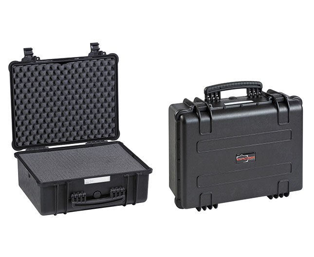 4412 B Waterproof Case, black with pre-cubed foam