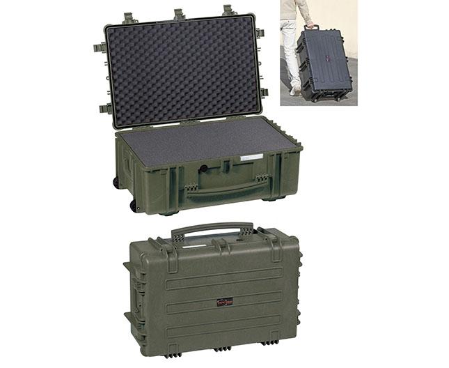 4419 GE Waterproof Case, military green empty