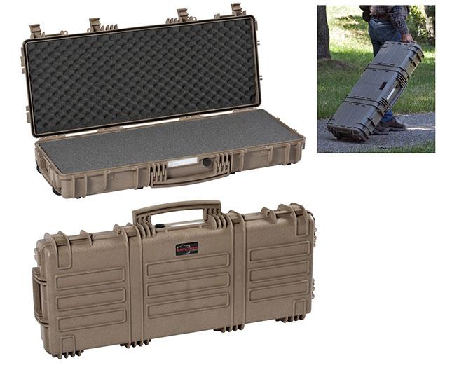 7641 GE Waterproof Case, military green empty