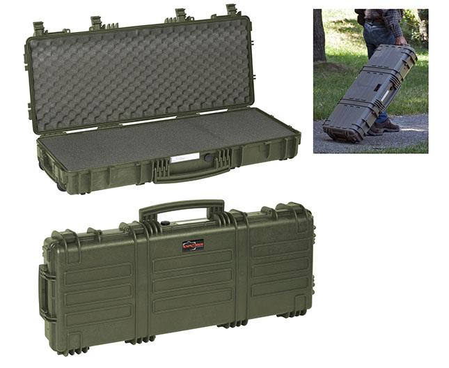 4820 GE Waterproof Case, military green empty