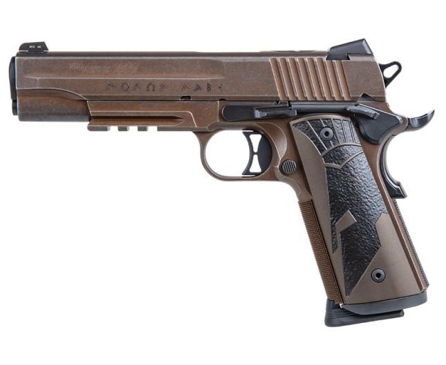 P229, 9MM, 3.9IN, NITRON, DA/SA, SIGLITE, E2 GRIP, (2) 15RD STEEL MAG